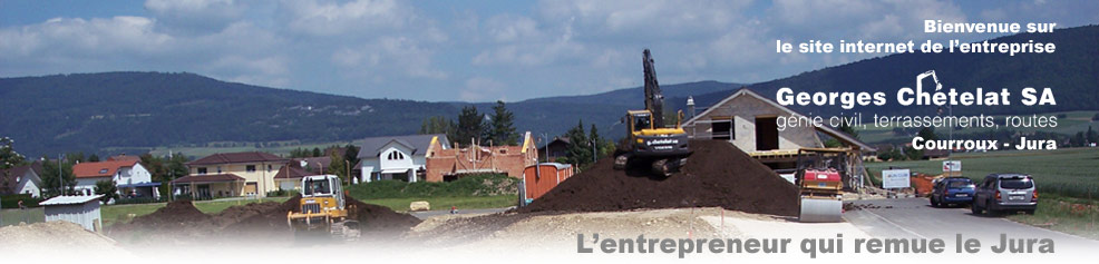 Bienvenue - Chantier lotisement
